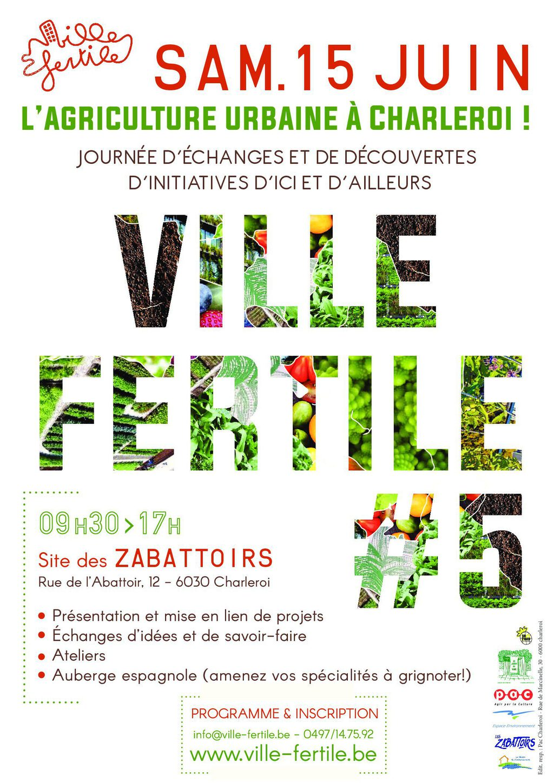 Ville fertile #5, c'est samedi!